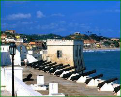 Cape Coast Castle was a mojor slave trade hub in West Africa